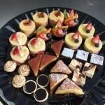 Fruit Tarts, Mousses, Lemon Meringues,  Chocolat tarts, American and North African bites